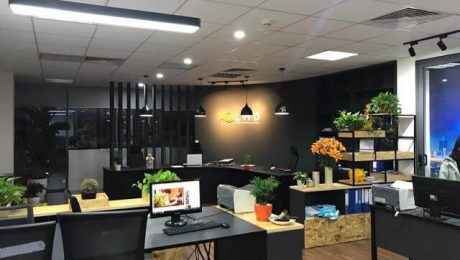 showroom cửa nhôm xingfa lhd group